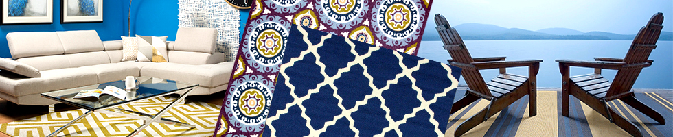 Indoor-Outdoor Rugs - Viscose Rugs & Viscose Area Rugs