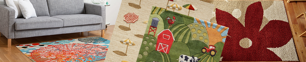 Novelty-Seasonal Rugs - Tan and Ivories Rugs