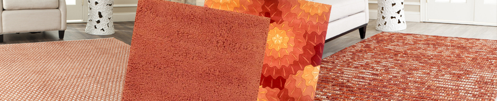 Orange & Rust Rugs