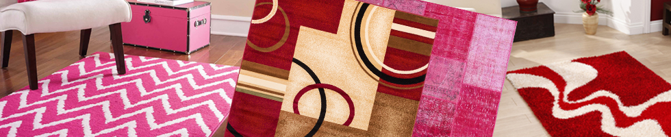 Red & Pink Rugs