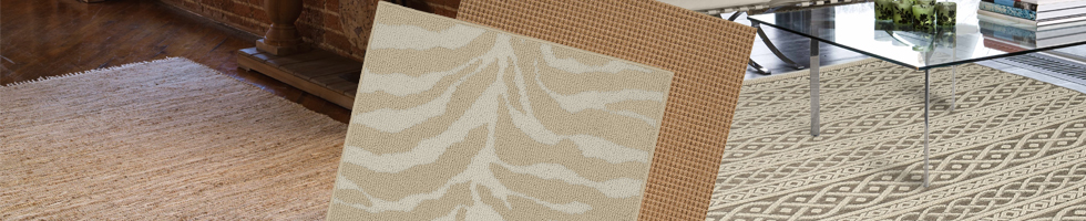 Tans & Ivories Rugs - Indoor Outdoor Rugs