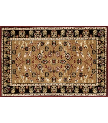 Art Carpet - Hearth Rugs elegant Burgundy-D.Beige