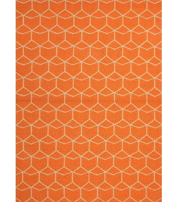 Jaipur Rugs Barcelona Estrellas BA07 Orange-Ivory