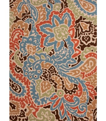 Jaipur Rugs Barcelona Flores BA04 Blue-Red