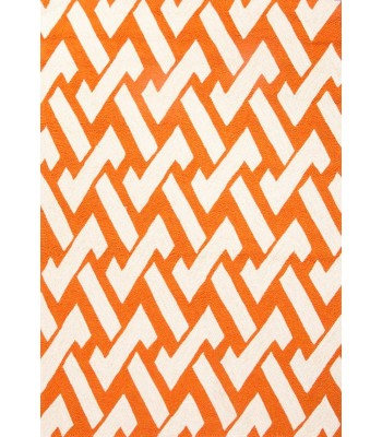 Jaipur Rugs Barcelona Interlocked BA31 Orange-Ivory