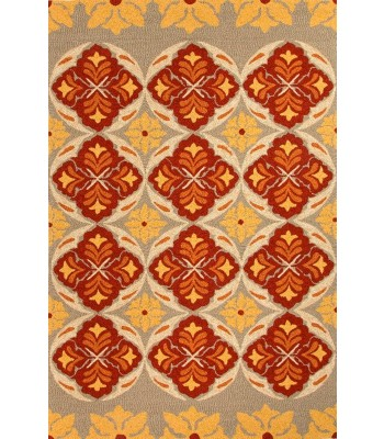 Jaipur Rugs Barcelona Malta BA46 Red-Yellow