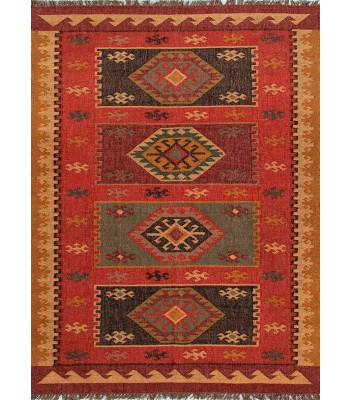 Jaipur Rugs Bedouin Amman BD04 Red-Yellow