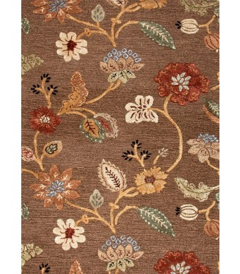 Jaipur Rugs Blue Garden Party BL45 Brown-Yellow