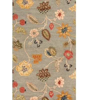 Jaipur Rugs Blue Garden Party BL83 Blue-Red