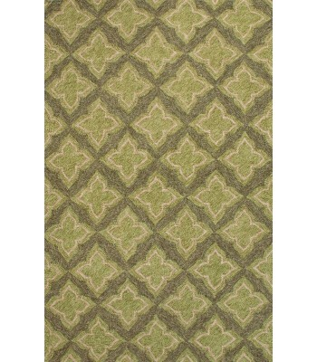 Jaipur Rugs Catalina Etoile CAT21 Green-Gray