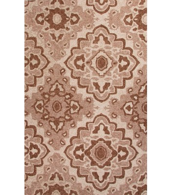 Jaipur Rugs Catalina Medallion CAT15 Taupe-Tan