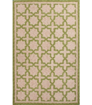 Jaipur Rugs Catalina Moroccan Mosiac CAT05 Green-Taupe