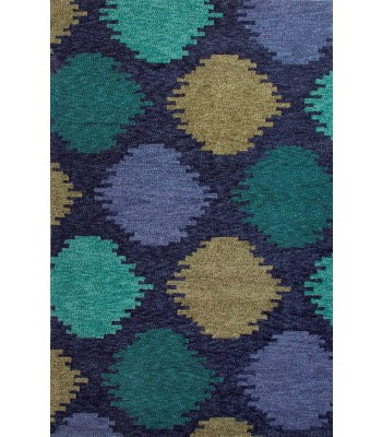 Jaipur Rugs Catalina Static Dot CAT07 Blue-Green