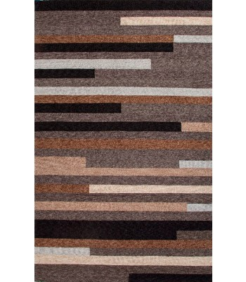 Jaipur Rugs Catalina offset lines CAT10 Taupe-Ivory