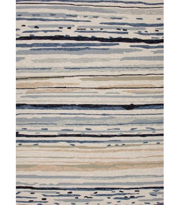 Jaipur Rugs Colours Sketchy Lines CO08 Ivory-Blue