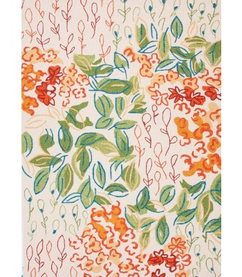 Jaipur Rugs Colours Veranda CO07 Ivory-Orange