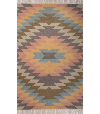 Jaipur Rugs Desert Mojave DES02 Blue-Orange