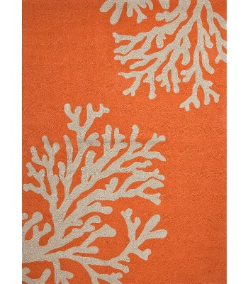 Jaipur Rugs Grant Bough Out GD01 Orange-Ivory