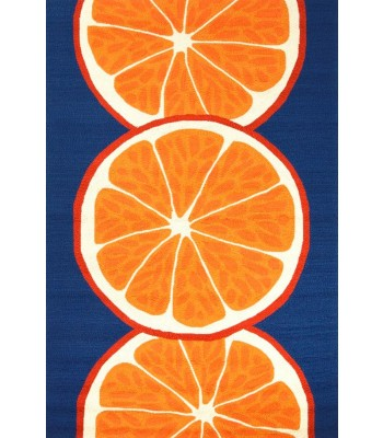 Jaipur Rugs Grant Citrus GD44 Orange-Blue