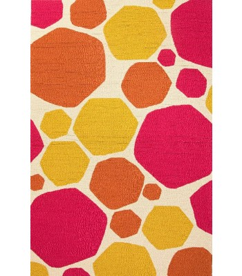 Jaipur Rugs Grant Rock it to me GD34 Pink-Yellow