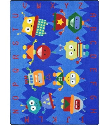 Joy Carpet - Kid Essentials - Early Childhood Alphabet Bots Multi