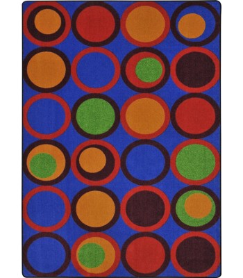 Joy Carpet - Kid Essentials - Teen Area Rugs Circle Back Primary