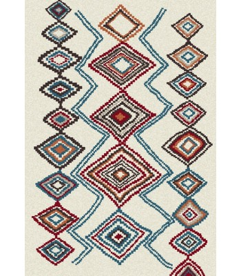 Dynamic Rugs - Nomad 6229-101 Ivory-Multi