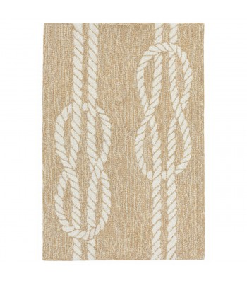 Trans Ocean - Capri 1636/12 Ropes Neutral