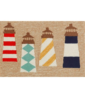 Trans Ocean - Frontporch 1401/12 Lighthouses Natural
