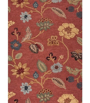 Jaipur Rugs Blue Garden Party BL05 Red-Multi