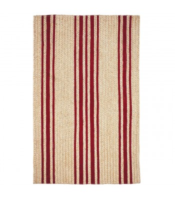Homespice - Jute Braided Baker Farmhouse Red