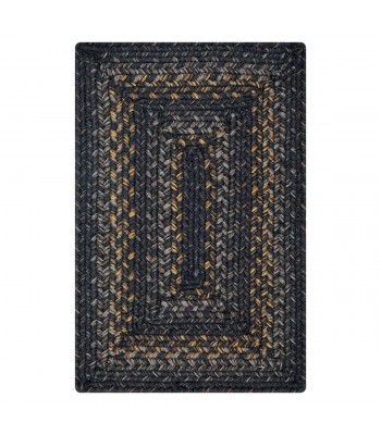 Homespice - Jute Braided Raven Grey-Gold