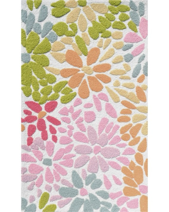 Buy The Rug Market Kids Crazy Daisy71105Dpink Mult Rugs