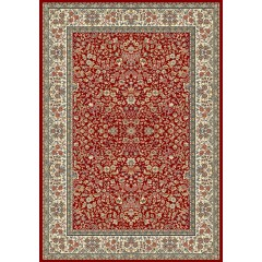 Dynamic RugsAncient Garden57078-1414Red-Ivory