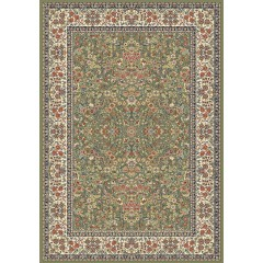 Dynamic RugsAncient Garden57078-4444Green-Ivory