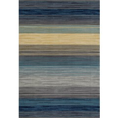 Art CarpetBastilleHeathered StripeBlue