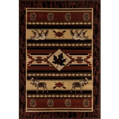 Art CarpetCabinAcadian AdventureBrown