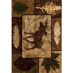 Art CarpetCabinMoose CreekBrown