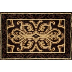 Art CarpetHearth RugsBlack-Brown