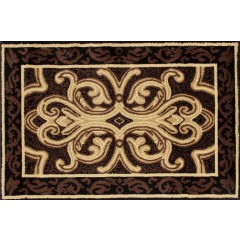 Art CarpetHearth RugsBrown-Black