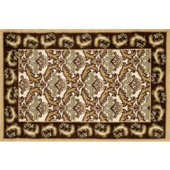 Art CarpetHearth RugsBrown-D.Beige