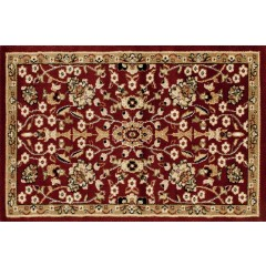 Art CarpetHearth Rugsfloral patternBurgundy-D.Beige