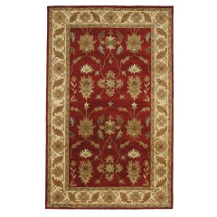 Dynamic RugsCharisma1403-300Red-Ivory