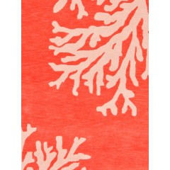 Jaipur RugsCoastal SeasideBough COS02Orange/Ivory