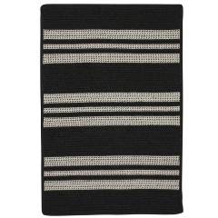 Colonial MillsSunbrella  Southport StripeUH19Black