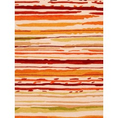 Jaipur RugsColoursSketchy Lines CO18Red/Orange