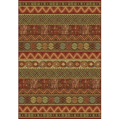 Dynamic RugsHeritage89386-1232Red-Multi