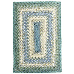 HomespiceCotton BraidedBaja BlueBlue - Beige