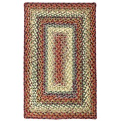 HomespiceCotton BraidedNeverlandRed - Green