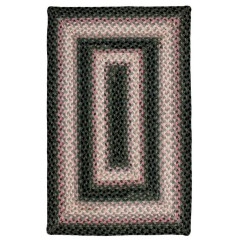 HomespiceCotton BraidedOleanderBlack - Pink
